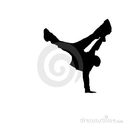 Break Dancer Silhouette [02]