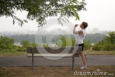 Break in Jogging