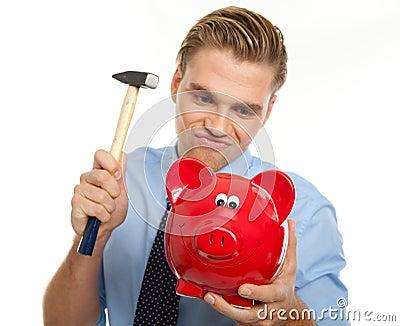 Break the piggybank