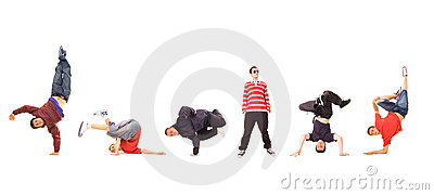 Breakdance team