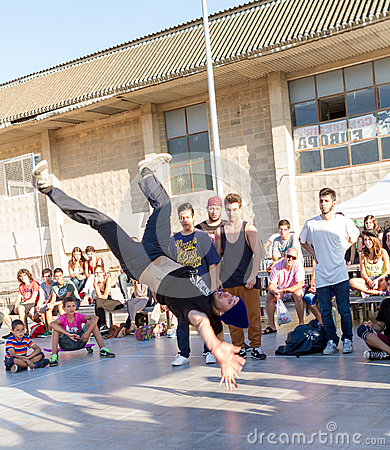 Breakdancer Editorial Stock Image