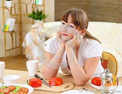 During breakfast