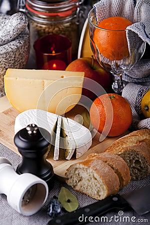 Breakfast arrangement