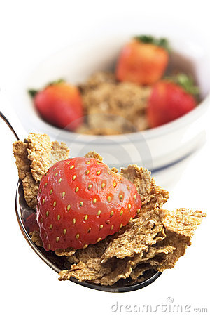 Free Breakfast Cereal With Blueberr Stock Photo - 2172930