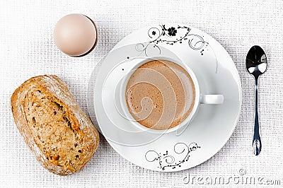 Breakfast coffe