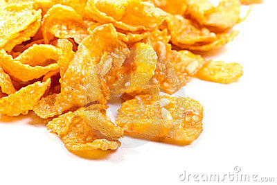 Breakfast corn flakes