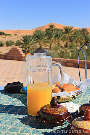 Breakfast in the Desert