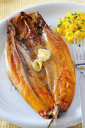 Free Breakfast Kippers Royalty Free Stock Photography - 9830477