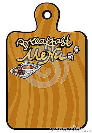 Breakfast Menu Background Stock Images - Image: 28410434