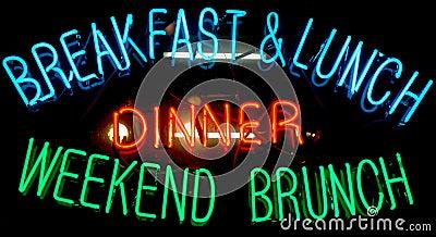 Breakfast Neon Sign