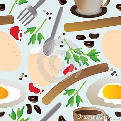 Breakfast Seamless Pattern_eps