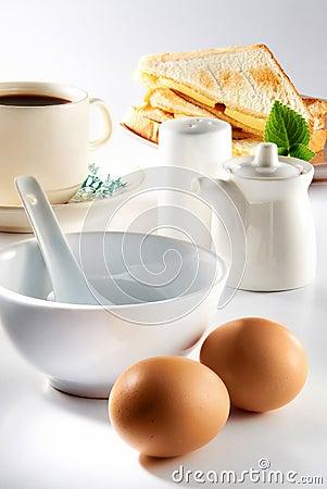 Free Breakfast Set Stock Photography - 24390332