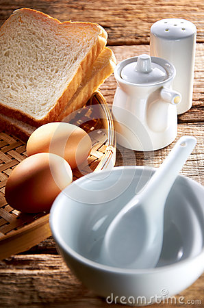 Free Breakfast Set Royalty Free Stock Images - 24664319