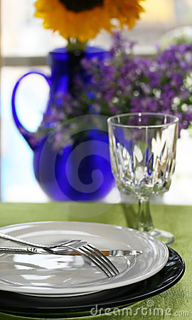 Free Breakfast Table Royalty Free Stock Photography - 5517067