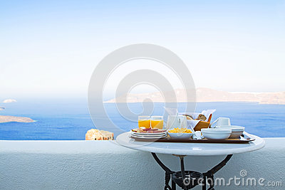 Breakfast for Two with a View
