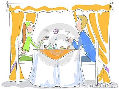 Breakfast - vector illustration