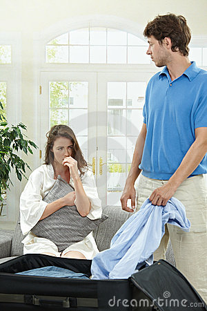Free Breaking Couple Royalty Free Stock Image - 11716856