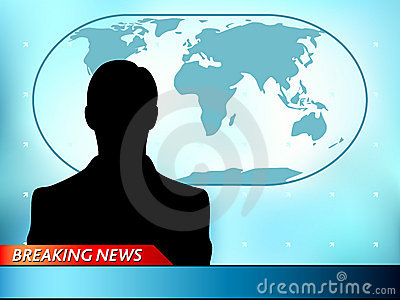 Breaking News Tv Royalty Free Stock Images - Image: 20134929