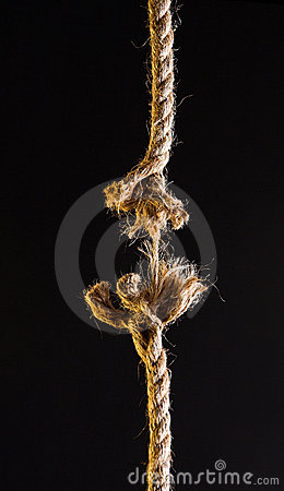 Free Breaking Rope Stock Images - 901524