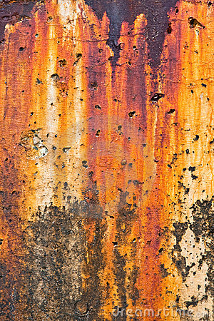 Breakwater Rust Stains