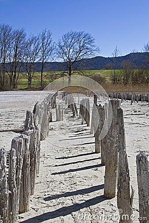 Breakwater in Upper Bavaria