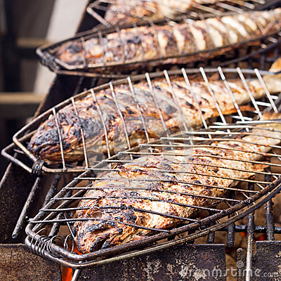 Bream - classic grilled