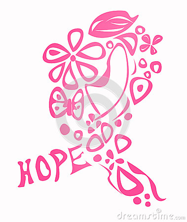 Free Breast Cancer Awareness Ribbon Stock Photo - 28452940