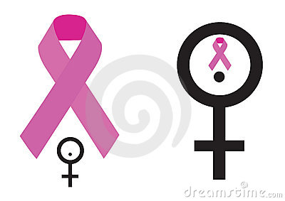 Breast cancer symbol