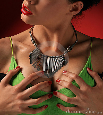 Free Breasts Royalty Free Stock Photography - 4479877