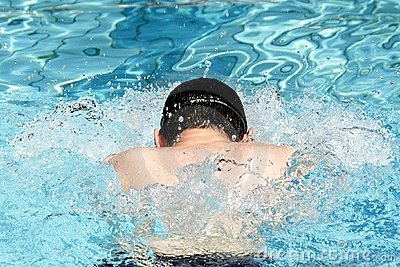 Breaststroke Swimming Professionall