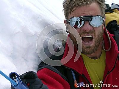 Breathe, climber!