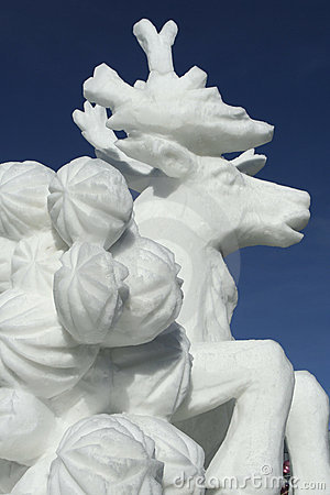 Breckenridge Snow Sculpture Competition Editorial Photography