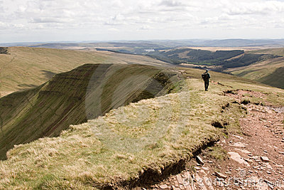 Brecon Beacons National Park view