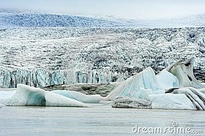 Breidarlon glacier, Iceland