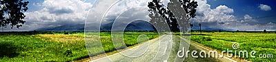 Breite Landschaft