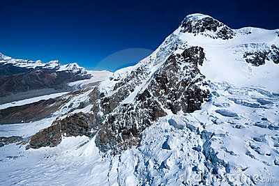 Breithorn glacier
