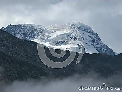 The Breithorn summit.