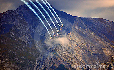Breitling Air Show Sion Royalty Free Stock Photo - Image: 21210325