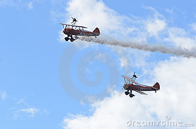 Breitling Wing Walkers Editorial Image
