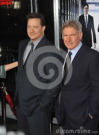 Brendan Fraser,Harrison Ford Editorial Photography