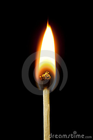Brennende Abgleichung