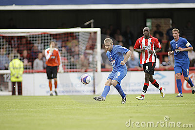 Brentford v Grimsby Town Editorial Photo