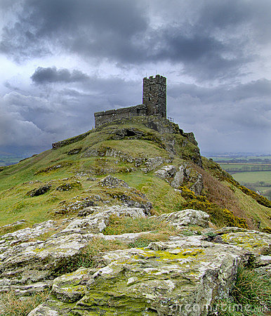 Free Brentor Church Royalty Free Stock Photography - 4669547