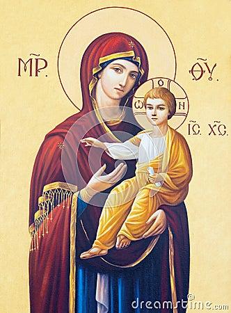 Free BRESCIA, ITALY, 2016: The Icon Of Madonna In Presbytery Of Church Chiesa Di Angela Merici Royalty Free Stock Photo - 77225145