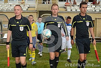 Brescia - SYFA under 17 soccer game Editorial Stock Photo