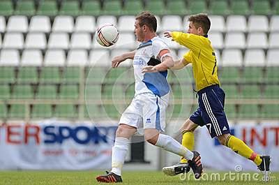 Brescia - SYFA under 17 soccer game Editorial Stock Image