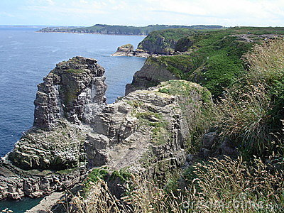 Bretagne s cliffs