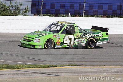 Brett Butler 47 Qualifying NASCAR Truck Series ORP Editorial Photo