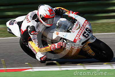 Brett McCormick - Ducati 1098R - Effenbert Liberty Editorial Stock Photo