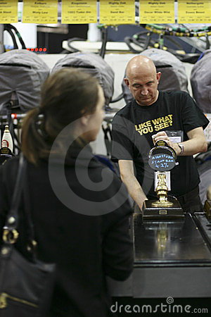 Brewers of The Great British Beer Festival Editorial Image